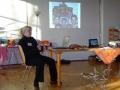 Miriam de Vries präsentiert ihre Arbeit in Palästina