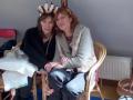 Nada Ignjatovic Savic mit ihrer Übersetzerin Annie Blaise