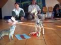 Workshop: Wolf und Giraffe sind immer dabei